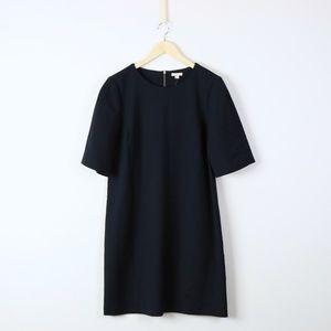 NWT Gap Solid Navy Short Sleeve Career Dress